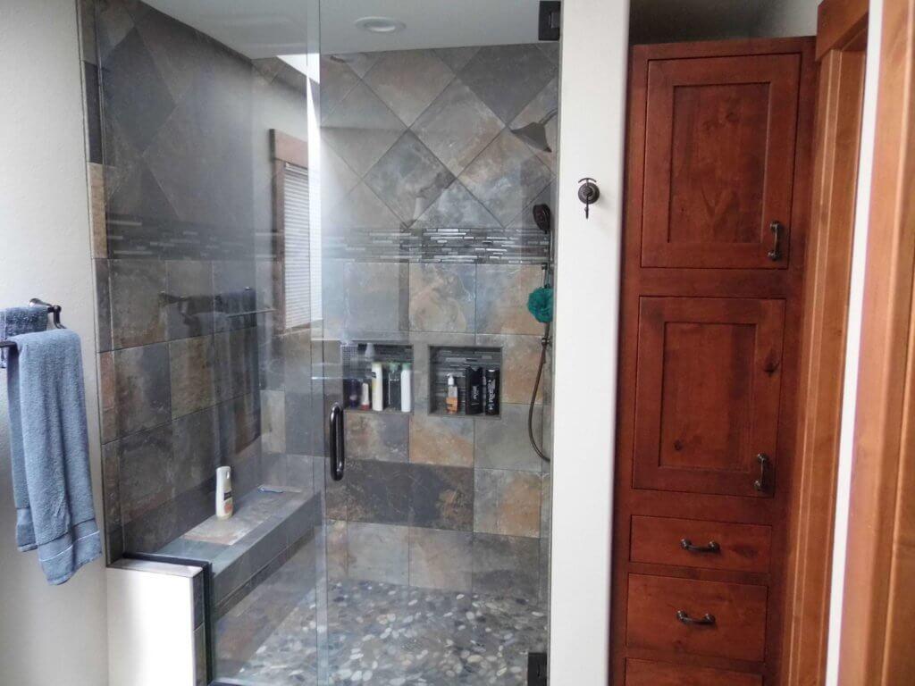Kitchen and Bathroom Remodels - Custom Built Log Homes - Colorado